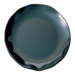 "Thunder Group - RF1018BW - 18"" Two Tone Black Pearl Round Plate image"