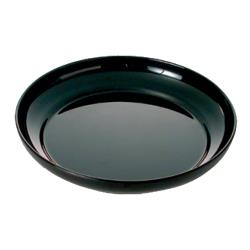 "Thunder Group - RF1112B - 12"" Black Pearl Salad Plate image"