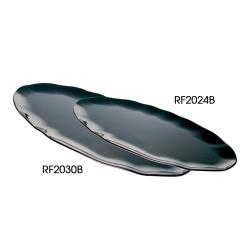 "Thunder Group - RF2030B - 30"" x 12"" Black Pearl Oval Platter  image"