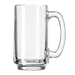 Libbey Glassware - 5012 - 12 1/2 oz Plain Handled Beer Mug image