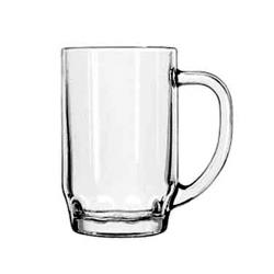 Libbey Glassware - 5303 - 19 1/2 oz Thumbprint Beer Stein image