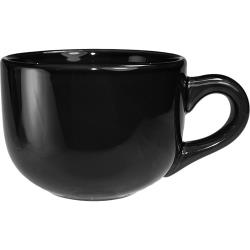 International Tableware - 822-05 - 14 Oz Cancun™ Black Latte Cup image