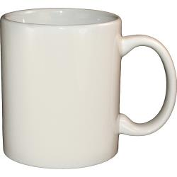 ITI - 87168-01 - 12 Oz American White C-Handle Mug image