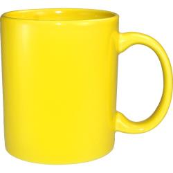 ITI - 87168-242 - 12 Oz Cancun™ Yellow C-Handle Mug image