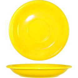 ITI - 81376-242S - 6 1/4 in Yellow bistro saucer image