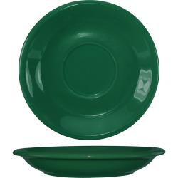 ITI - 81376-67S - 6 1/4 in Green bistro saucer image