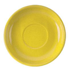 ITI - 822-242S - 6 1/8 in Yellow latte saucer image