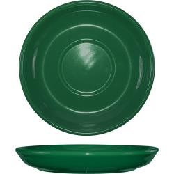 ITI - 822-67S - 6 1/8 in Green latte saucer image