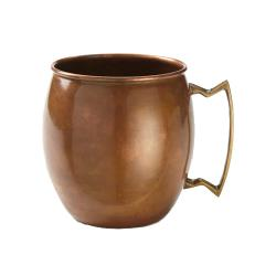 American Metalcraft - ACM - 14 oz Antique Copper Moscow Mule Mug with Handle image