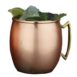 American Metalcraft - CM16P - 16 oz Brass Moscow Mule Cup image