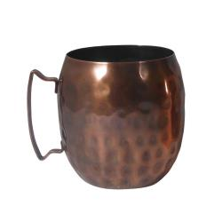 World Tableware - MM100 - 14 Oz Hammered Moscow Mule Mugs image