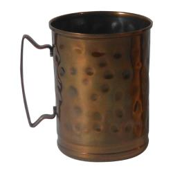 World Tableware - MM-200 - 14 oz Tall Hammered Moscow Mule Mug image
