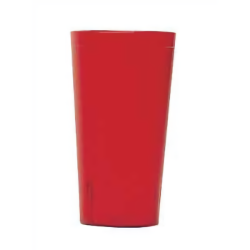 Cambro - 1600P156 - 16 oz Ruby Red Pebble Colorware Tumbler image