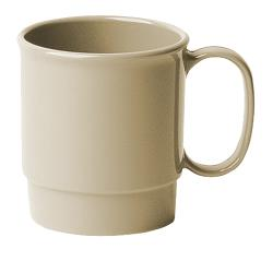 Cambro - 75CW133 - Camwear® 7.5 oz Beige Stacking Cup image