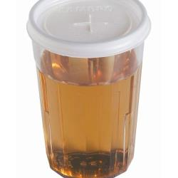 Cambro - CLNT5-190 - CamLid® Disposable 6.4 oz Newport Tumbler Lid image