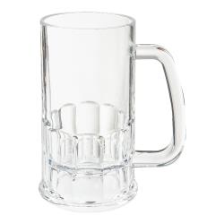 GET Enterprises - 00082-1-SAN-CL - 10 oz- 5 in H SAN Beer Mug image