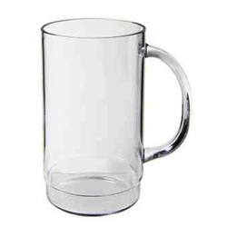 "GET Enterprises - 00083-1-SAN-CL - 20 oz- 5.5""H SAN Beer Mug image"