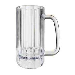 "GET Enterprises - 00086-1-SAN-CL - 16 oz- 6.25""H SAN Beer Mug image"