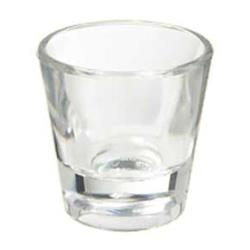 "GET Enterprises - SW-1425-1-CL - 1 oz- 2"" SAN Shot Glass image"