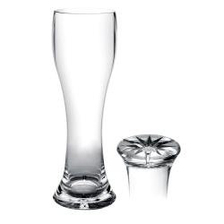 Thunder Group - PLTHPS023C - 23 oz Polycarbonate Pilsner Glass image