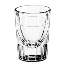 Libbey Glassware - 5126/A0007 - 2 oz Fluted Whiskey Glass w/1 oz Cap Line image