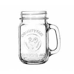 Libbey Glassware - 97085 - County Fair 16 1/2 oz Drinking Jar image