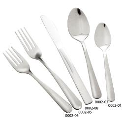 Winco - 0002-06 - Windsor Medium Weight Salad Fork image