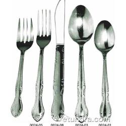 Winco - 0024-04 - Elegance Mirror Finish Bouillon Spoon image
