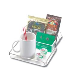 Cal-Mil - 490-12 - 7 1/2 in x 9 1/2 in Clear Amenity Tray image