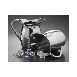 American Metalcraft - DWP64 - 64 oz Mirror Finish Stainless Steel Bell Pitcher image