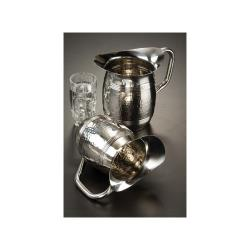 American Metalcraft - HMWP97 - 100 oz Hammered Stainless Steel Pitcher image