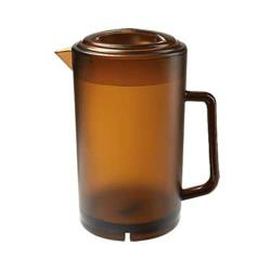 GET Enterprises - P-3064-A - 64 oz Amber Pitcher image