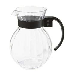 GET Enterprises - P-4072-PC-CL - Tahiti 72 oz Pitcher w/ Black Handle image