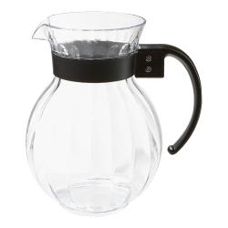 GET Enterprises - P-4091-PC-BK - Tahiti 90 oz Pitcher w/ Black Handle image