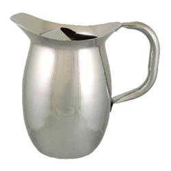 ITI - IBGS-I-C2W/G - 2 Qt Stainless Steel Deluxe Bell Pitcher with Guard image