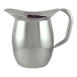 ITI - IBGS-I-C3W/G - 3 Qt Stainless Steel Deluxe Bell Pitcher with Guard image