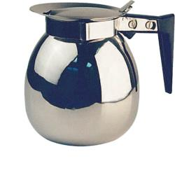 Winco - CD-64 - 64 oz Stainless Steel Coffee Server image