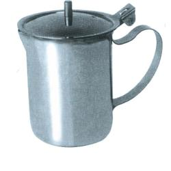 Winco - SCT-10 - 10 oz Stainless Steel Server image