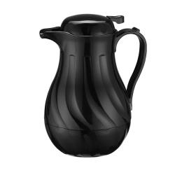 Winco - VSW-64K - 64 oz Black Beverage Server image