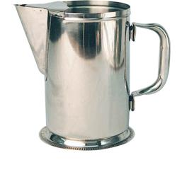 Winco - WPG-64 - 64 oz Stainless Steel Water Pitcher  image