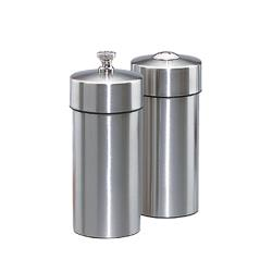 "Chef Specialties - 29900 - Futura 5 1/2"" Stainless Steel Mill & Shaker Set image"