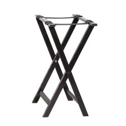 American Metalcraft - WTSB33 - 31 in Black Tray Stand image