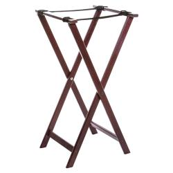 American Metalcraft - WTSM38 - 38 in Mahogany Tray Stand image