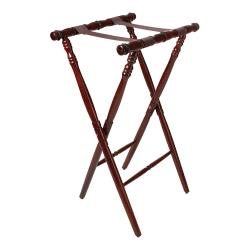 GET Enterprises - TSW-104 - 30 1/4 in Mahogany Tray Stand image