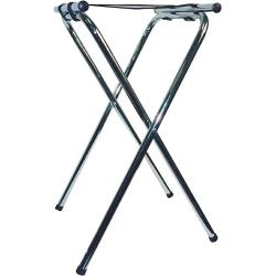 Winco - TSY-1A - 31 in Chrome Tray Stand image