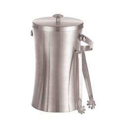 American Metalcraft - ISSB8 - 49 oz Double Wall Ice Bucket with Tongs image
