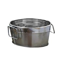 American Metalcraft - STUB63 - 6 in x 3 in Stainless Steel Beverage Tub image