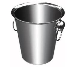 Winco - WB-4 - 4 Qt Stainless Steel Wine Bucket image