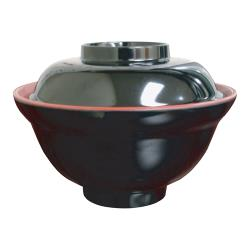 Thunder Group - 3223JBR - 16 oz. Melamine Miso Soup Bowl image