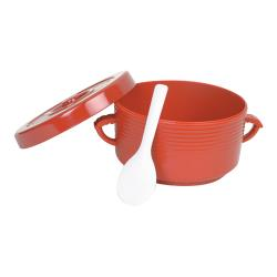 Thunder Group - T-333 - Rice Container w/ Handles and Spoon image